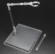 New Clear Acrylic Base Display Stand U Type Model Bracket Stand For 1/6 Scale