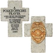 """Policeman's Prayer"" Mini Cross"
