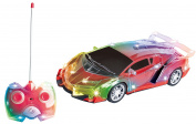 Light Up RC Remote Control Car for Kids with Flashing LED Lights