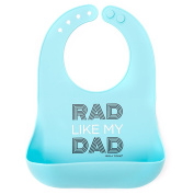 Bella Tunno Rad like my Dad Silicone Wonder Bib