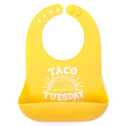Bella Tunno Taco Tuesday Silicone Wonder Bib