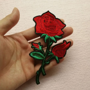 Flower Patch Clothing Accessories Flowers Embroidery Applique Clothes Decoration,Rose