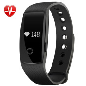Bluetooth Smart Bracelet Watch Wristband Sports Blood pressure Heart Rate Monitor Fitness Tracker Calorie Health Sleep Monitor OLED Display for Android IOS