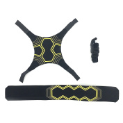Silfrae Soccer Kick/Throw, Hands Free Solo Trainer, Practise and Training different Skills with Adjustable Waist Belt, Durable Material, Suitable for Adult and Kid.