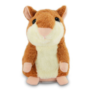 Hamster Mouse Plush,Electronic Pet Talking Plush Buddy Mouse for Kids by ABCsell
