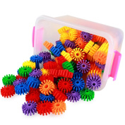 Gears toy Puzzle baby Earlier education children Building blocks