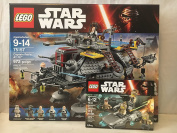 LEGO Star Wars Captain Rex's AT-TE & LEGO Star Wars Resistance Trooper Battle Pack