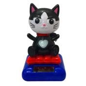 Car Dashboard Animal Dancing Swinging Toy, ZLOSKW Solar Powered Animated Bobble Decor