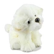 "Elka Australia Bichon Frise Stuffed Animal Soft Plush Toy 12""/30cm White"