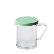 Cambro Manufacturing 96SKRF135 Camwear Shaker Fine Ground with Green Lid