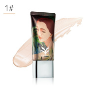 KISSBUTY 3 Colour Cream Compact Foundation Flawless Makeup Face Foundation,Waterproof and Long Wearing