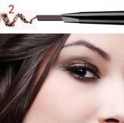 Sympath Waterproof Eye Brow Eyeliner Eyebrow Pen Pencil With Brush Makeup Cosmetic Tool