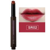 8 Colours Press Matte Lipstick Pen Velvet Balm Gloss Smudge Lasting by ESCENERY