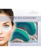 BEAUTY FACE - Collagen Eye Mask - Moisturising and Whitening with Seaweeds and Cucumber - For a Fresh, Restful and Rejuvenated Look