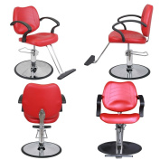 Barber Beauty Salon Equipment Hydraulic Styling Chair Package 4 x SC-21RD