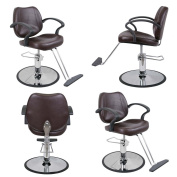 Barber Beauty Salon Equipment Hydraulic Styling Chair Package 4 x SC-21BR
