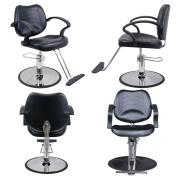 Classic Barber Beauty Salon Equipment Hydraulic Styling Chair 4 x SC-21BLK