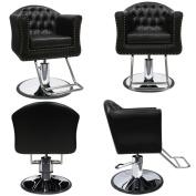 ARIA Barber Beauty Salon Hair Equipment Hydraulic Styling Chair 4 x SC-87BLK