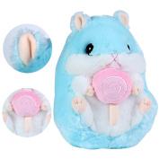 Cuddly Hamster Stuffed Animal Doll 25cm ,Kosbon Soft Mouse Toy Children's Pillows Cushion Plush Doll For Xmas Christmas Wedding Presents Gift,Graduation Valentine's Day Birthday