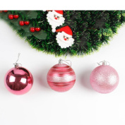 Christmas Decor,Nesee 12pcs Christmas Tree Xmas Balls Decorations Baubles Party Wedding Ornament 8cm
