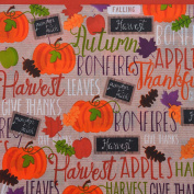 Fall Harvest Plastic Table Covers 140cm x 270cm Rectangular - Perfect for Thanksgiving!