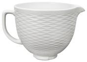 KitchenAid KSMCB5TLW 4.7l. Tilt-Head Textured Ceramic Bowl - White Chocolate
