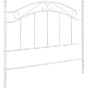 White Bed Mainstays Fits Full/Queen Metal Headboard Frames