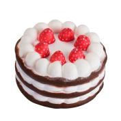 Jumbo Soft Strawberry Cake Cartoon Slow Rising Squeeze Squishy Kids Children Toy Gift by Staron