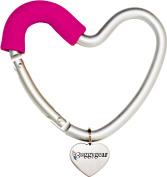 BUGGYGEAR Buggy Heart Hook, Pink/Silver