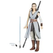 Star Wars The Black Episode 8 Series Rey (Jedi Training), 15cm