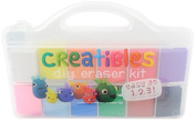 OOLY is now newly OOLY, Creatibles DIY Erasers, Set of 12