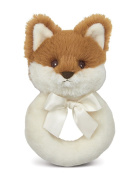 Bearington Baby Lil' Fritz Fox Plush Ring Rattle 14cm