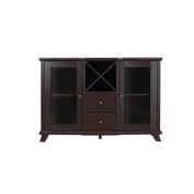 Furniture of America Anglex Wine Rack Buffet in Cappuccino