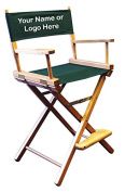 Personalised Imprinted Counter Height Director's Chair