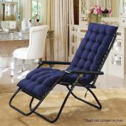 Hootech Chaise Lounge Cushion Patio Chair Pads Outdoor Mattress 150cm for Garden Sun Lounger Recliner Indoor Veranda or Deck