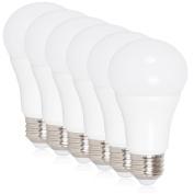 Maxxima LED A19 - 800 Lumens 60 Watt Equivalent Daylight Cool White (5000K) Light Bulb, 10 Watts
