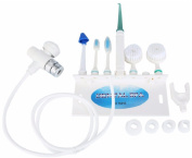 Lucktao Oral Irrigator Family Washing Sets Dental Water Flosser SPA Toothbrush Water Jet Face Cleansing Instrument Nasal Cleaner