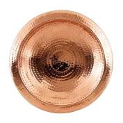 Achla Designs Hammered Copper Birdbath Bowl with Rim