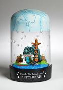 Ketchikan RainGlobe - The Globe That Rains!