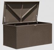 Spacemaker® Deck Box, Basket Weave, Espresso