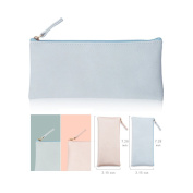 PU Leather Pencil Cases Pouch Bag with Zipper,Simple Pencil Pouches, Makeup Pouch, Cosmetic Pouch