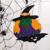 Creative Halloween Pendant Ornaments,Tuscom Halloween Pumpkin Witch Ghost Decor