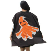 Voberry® Novelty Pumpkin Print Cloak Coat Wicca Robe Mediaeval Cape Shawl Halloween Party
