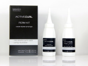 Active Curl Perm System Kit 01 for Normal Hair : Mild Alkaline Perm Lotion and Caring Neutraliser Neutraliser