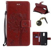 PU Leather Case with Stand/Card Slot for LG K10