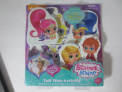 Shimmer and Shine Tub Time Activity with 8 Foam Pieces & 1 Bath Crayon