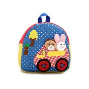 pinnacleT1 Baby Cartoon Animal Backpack Kindergarten Kids Cute Bag for Boys Girls Kindergarten Pre school Toy Book Bag