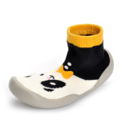YJYdada Baby Kids Toddlers Prewalker Non-slip Shoes Soft Sock Boots Shoes