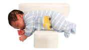Infant Deep Sleep Adjustable Support Wedge Pillow + THE BEST BABY SLEEPING GUIDE