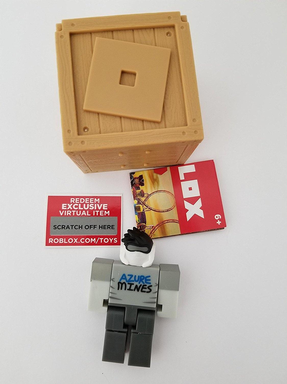 ROBLOX Series 2 Berezaa action Figure mystery box + Virtual Item Code 6 4cm